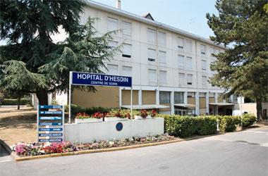 Centre hospitalier d'Hesdin : établissement Richelieu